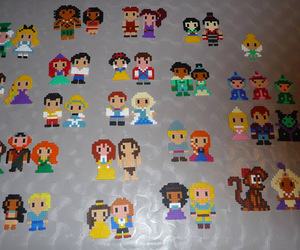 disney, diy, and pixel art image