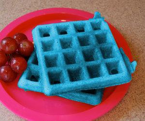 blue waffle percy jackson image
