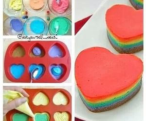 diy, heart, and rainbow image