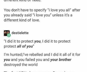 dean winchester, protection, and need image