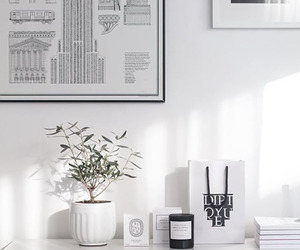 decor, interior, and white room image