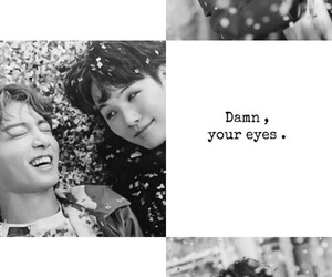 black and white, kpop, and shipper image