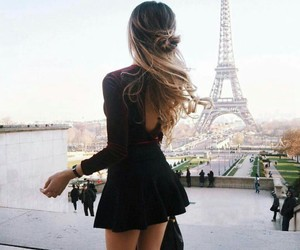 fashion, paris, and hair image