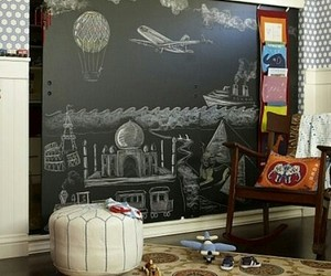 art, chalkboard, and cool image