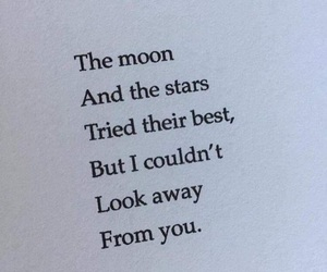 quotes, moon, and stars image