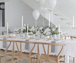 ballons, chic, and cosy image