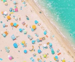 beach, beauty, and blue image