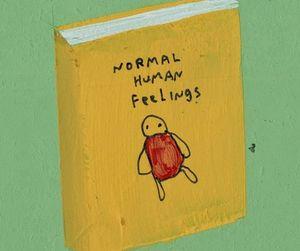 book, feelings, and human image