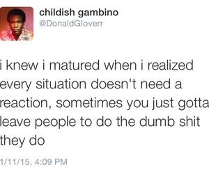 quotes and childish gambino image
