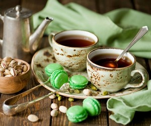 tea, cup, and green image
