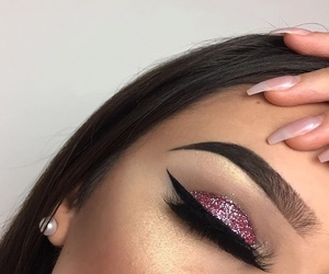 brilliant, eyes, and eyebrows image