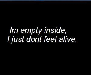 alive, anxiety, and depressed image