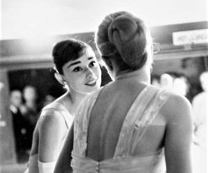audrey hepburn, grace kelly, and vintage image