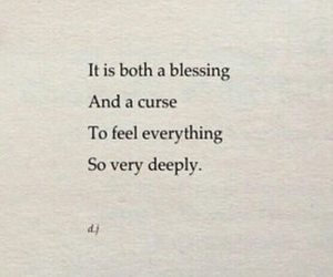 quotes, curse, and feelings image