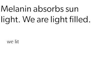 lit and melanin image