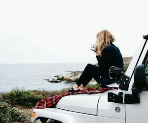 girl, travel, and adventure image