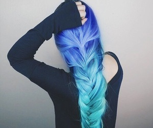 beautiful, style, and blue image