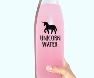 unicorn, pink, and water image