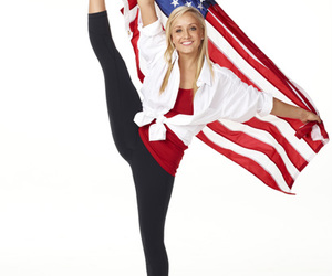 american, blue, and gymnast image