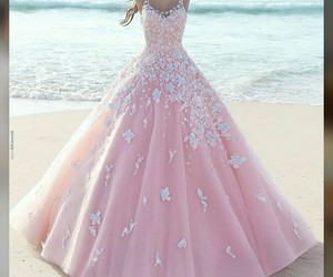 beach and gowns image