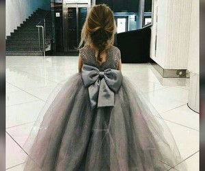 back, bow, and gown image