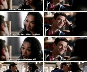 the cw, the flash, and westallen image