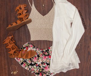summer, cute, and clothing image
