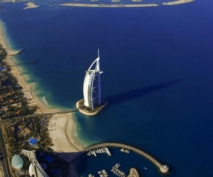 Dubai, sea, and summer image