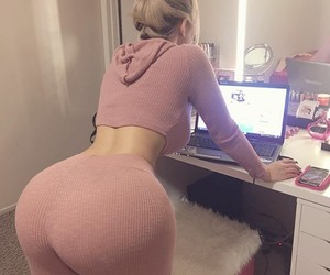 ass, sexy, and girl image