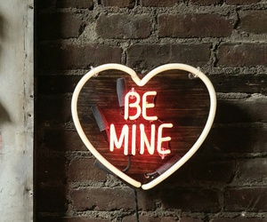 be mine, love, and heart image