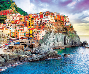 buildings, cinque terre, and colorful image