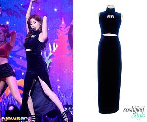long dress, snsd, and seohyun image