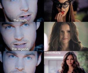 the vampire diaries, katherine pierce, and Nina Dobrev image