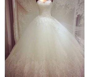 Dream, wedding, and dress image
