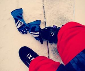 gory, snowboard, and zabawa image