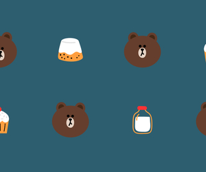 wallpaper and line friends image