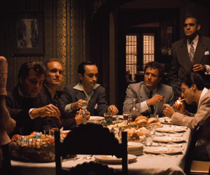 michael corleone, movie, and The Godfather image