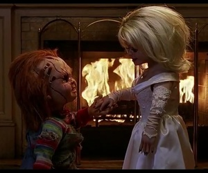 Chucky, bride of chucky, and cute image