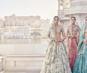 bollywood and saree image