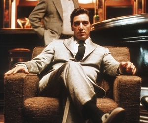 michael corleone, The Godfather, and movie image