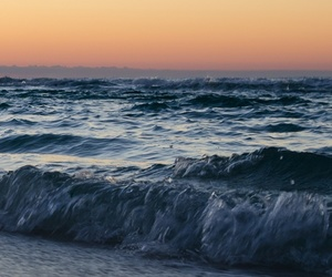 sea, love, and nature image