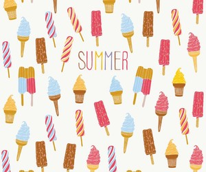 summer and ice cream image