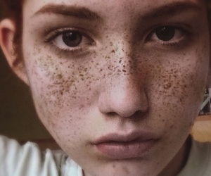 aesthetic, deep, and freckles image