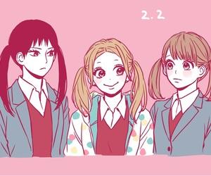manga and orange image
