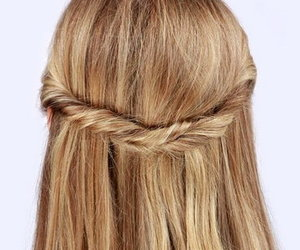 hair, Easy, and hairstyles image