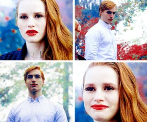 twin, riverdale, and cheryl blossom image