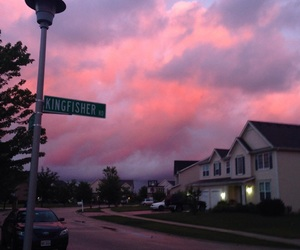 sky, pink, and aesthetic image