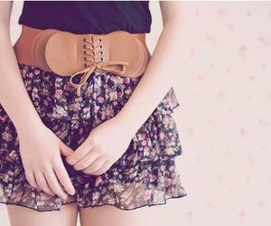 fashion, skirt, and belt image