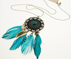 dreamcatcher and necklace image