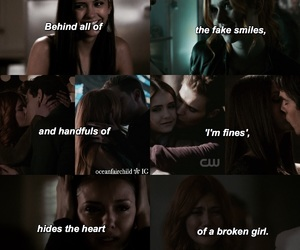quote, tv show, and the vampire diaries image